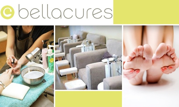 Bellacures - Beverly Hills: $28 Luxury Manicure and Pedicure at Bellacures ($58 Value)