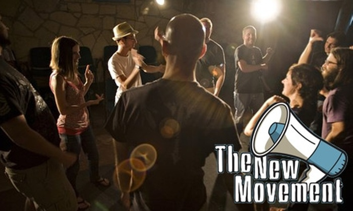 The New Movement Theater - Central East Austin: $65 for Eight Weeks of Introductory Improv Comedy Classes and Shows at The New Movement Theater ($150 Value)