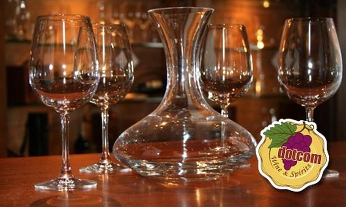 Dotcom Wine & Spirits - West Hartford: $20 for $40 Worth of Wine Accessories at Dotcom Wine & Spirits