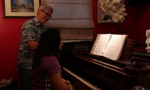 Maximus Music Productions: One Private Piano, Guitar, or Voice Lesson at Maximus Music Productions (46% Off)