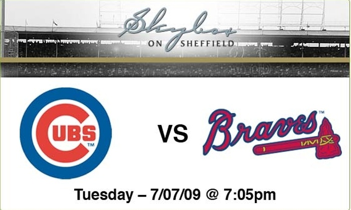 Sky Box on Sheffield - Lakeview: $89 to see Cubs vs Braves, July 7, at 7:05 p.m.