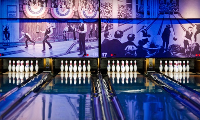 Pinstripes - Multiple Locations: $12 for $24 Worth of Bowling and Bocce or Sunday Brunch at Pinstripes