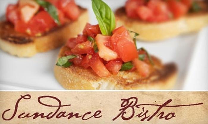 Sundance Bistro - Spokane: $15 for $30 Worth of Italian Fare at Sundance Bistro