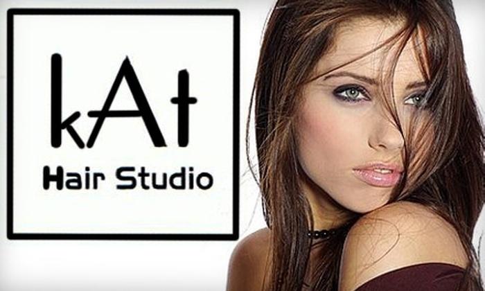 kAt Hair Studio - Sioux Falls: $35 for $80 Worth of Hair Services at kAt Hair Studio