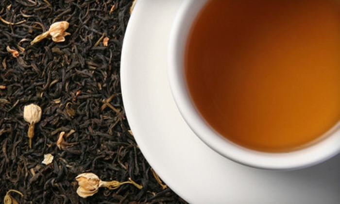 White Jasmine: One Winter Warming Basket or $10 for $20 Worth of Teas, Spice Blends, and Spiced Cheeses from White Jasmine