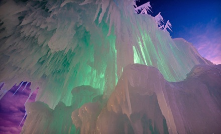 Visit for 2 - The Ice Castles at Silverthorne in Steamboat Springs