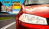 Clear Sunset Car Wash - Bradenton: $20 for Three Basic Full-Service Car Washes or Three Platinum Exterior Washes at Clear Sunset Car Wash in Bradenton (Up to $44.94 Value)