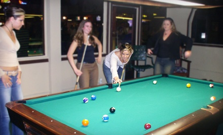 2 Hours of Pool (up to a $24 value) and 2 Beers (up to a $9 value; up to a $33 total value) - Fast Eddy's Billiards in Capitola