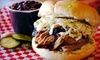 SoulFire Barbeque  - Brighton: $7 for $15 or $15 for $35 Worth of Smoked Meat and Non-Alcoholic Drinks at SoulFire Barbeque in Allston