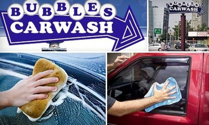 Bubbles Car Wash - Dorchester: $25 for Three Car Washes at Bubbles Car Wash ($54 Value)