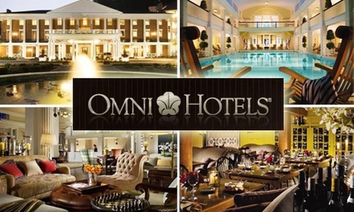 Omni Bedford Springs Resort & Spa - Washington DC: $149 for a Night at the Omni Bedford Springs Resort & Spa ($270 Value)