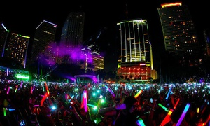 Night Nation Run: $29 for Entry to a Nighttime 5K Music Festival on Saturday, May 14 ($60 Value)