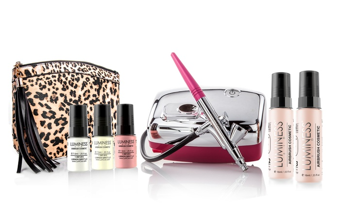Luminess Airbrush Makeup Systems | Groupon Goods