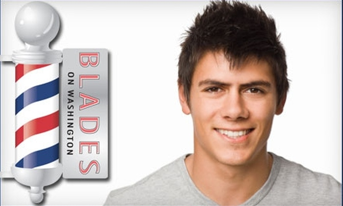 Blades on Washington - Downtown St. Louis: $13 for a Men's Haircut and Neck Shave at Blades on Washington ($26 Value)