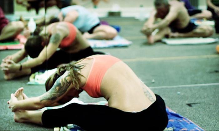 Bikram Yoga on the Island - Island Acres: One 90-Minute Heated-Yoga Class