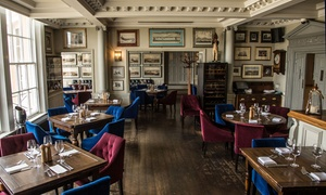 Trafalgar Tavern in Greenwich: Classic or Sparkling Afternoon Tea at Trafalgar Tavern in Greenwich with Views of the River Thames (Up to 43% Off)