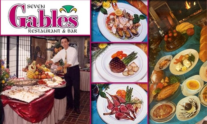 Seven Gables Restaurant - Conyers: $10 for $25 Worth of Eclectic American Cuisine at Seven Gables Restaurant & Bar