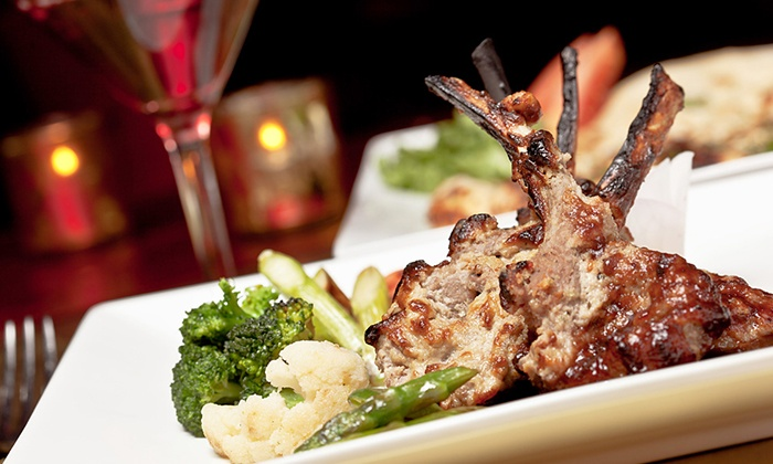 Mint Restaurant & Lounge - Midtown Center: Indian Food at Mint Restaurant & Lounge (50% Off). Two Options Available.