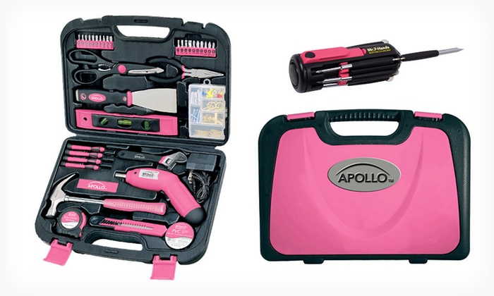 Apollo Tools Household-Tool Set: $59.99 for an Apollo Tools Household-Tool Kit and Mr. 7 Hands Tool ($79.98 List Price). Free Shipping and Free Returns.