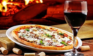 Da Maria: Pizza or Pasta With Wine For Two or Four from £13.95 at Da Maria (Up to 55% Off)