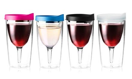 Asobu Vino2Go Wine Tumblers (Set of 2)