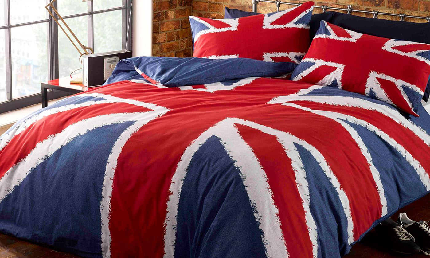 Rapport Home Rule Britannia Duvet Sets for £11.99