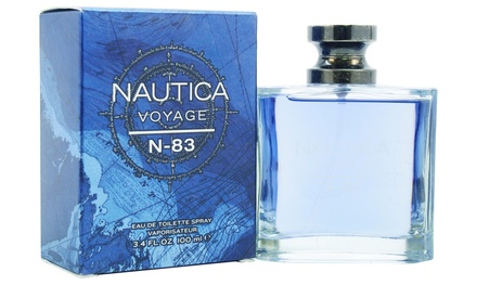 Nautica Voyage N-83 Eau de Toilette for Men (3.4 Fl. Oz.)