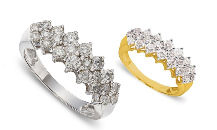 0.5 CTTW Diamond Ring in 10K Gold: 0.5 CTTW Diamond Ring in 10K Gold. Multiple Styles Available. Free Returns.