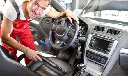 Check up auto e igienizzazione
