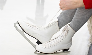 Plex Indoor Sports: Public Roller-Skating  or Ice-Skating Admission for Two or Four at Plex Indoor Sports (Up to 58% Off)