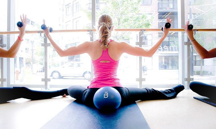 Barre3  - Morristown: Four Barre Fitness Classes or One Month of Unlimited Classes at Barre3 (Up to 56% Off)