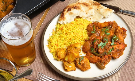 Indian Dinner at Karaikudi Palace (Up to 45% Off). Four Options Available.
