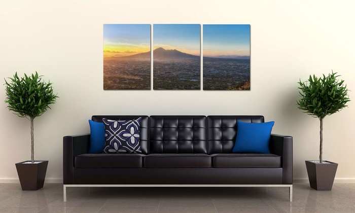 "Canvas Made Easy - Toronto: Two or Three 12""x18"" Custom Canvas Prints or Three 14""x20"" Prints from Canvas Made Easy (Up to 71% Off)"