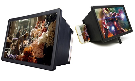 $25 for a Universal 12-Inch Mobile Phone 3D Screen Magnifier