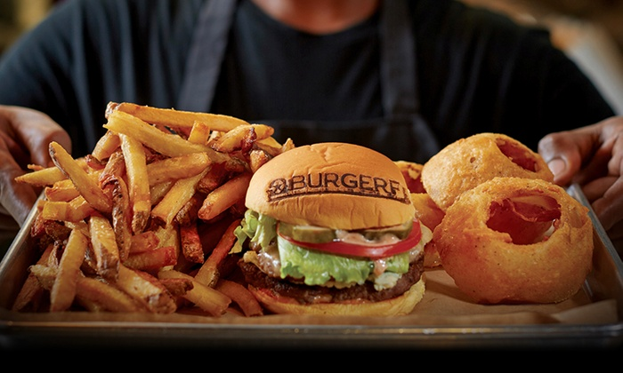 BurgerFi - Upper Washington - Spring Street: $13 for $20 Worth of Burgers, Hot Dogs, and Sides at BurgerFi