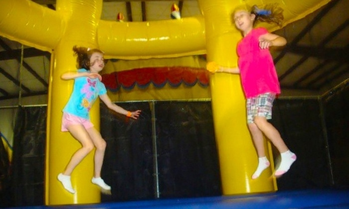 BooKoo Bounce - Harahan: $5 for One Walk-In Play Pass Plus Soft Drink and Snack at BooKoo Bounce ($10 Value)