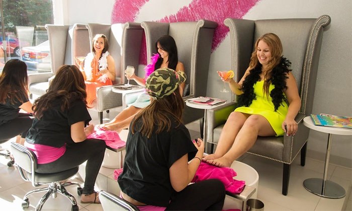 Flirty Girl Fitness - 2215 N. Halsted: No-Chip Manicure or Blowout at Flirty Girl Fitness (Up to 50% Off)