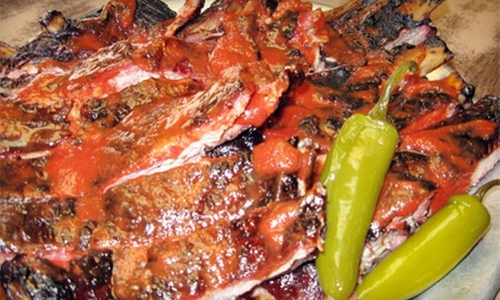 Quick's Bar-B-Q & Catering Co. - Shawnee Heights: $7 for $15 Worth of Barbecue Fare at Quick's Bar-B-Q & Catering Co.