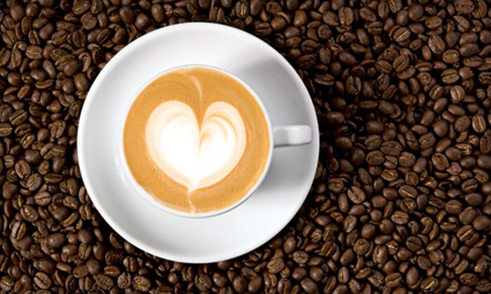 Liberty Cafe - Downtown: Five Medium House-Blend Coffees or Five Medium Specialty Coffee Drinks at Liberty Cafe