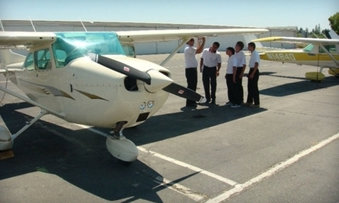 Future Eagles Aviation - Rancho Cordova: $99 for a Three-Hour Discovery Flying Lesson and One-Hour Flight from Future Eagles Aviation ($249 Value)
