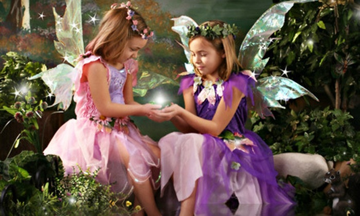 Focus On You Photography - Stevensville: $49 for a Children's Enchanted Photo Shoot with Print and Digital Image at Focus On You Photography ($195 Value)