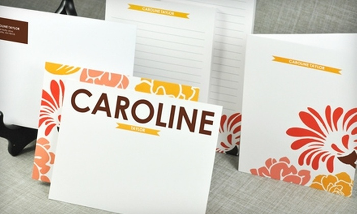 Paper Snaps: $25 for $50 Worth of Personalized Stationery and Invitations from Paper Snaps