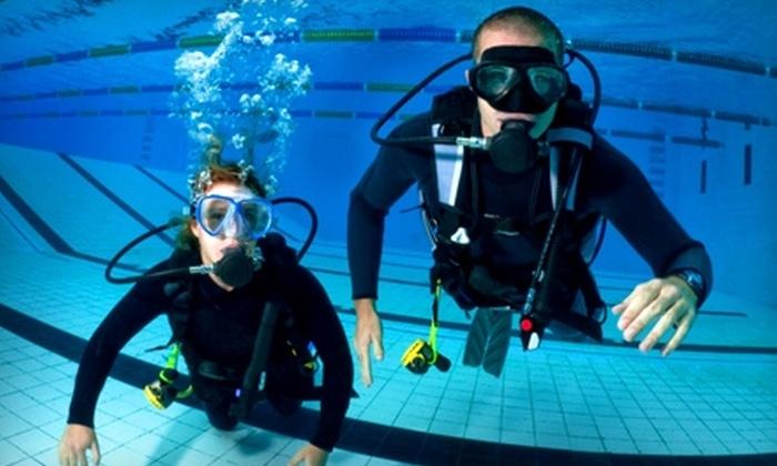 Columbia Scuba - Northeast Arcadia Lakes: $20 for a Discover Scuba Diving Class ($50 Value) or $185 for a Scuba-Certification Class ($375 Value) at Columbia Scuba