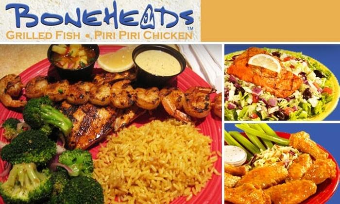 Boneheads - Atlanta: $10 for $25 Worth of Chicken and Fish at Boneheads
