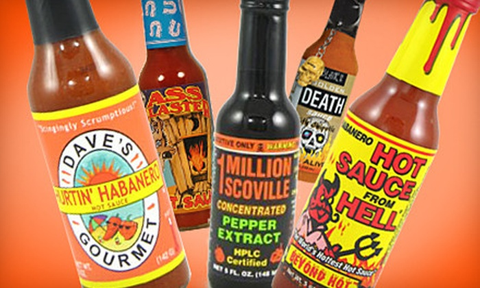 Pepperheads Hotsauces: $10 for $20 Worth of Hot Sauces, Peppers, and Spicy Products from Pepperheads Hotsauces