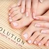 Half Off Natural Manicure and Pedicure