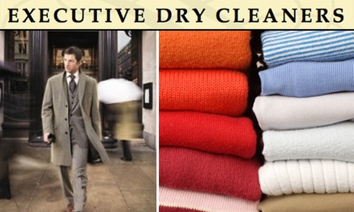 Executive Dry Cleaners - Belltown: $15 for $30 Worth of Dry Cleaning at Executive Dry Cleaners