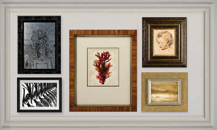 The Great Frame Up - Multiple Locations: $45 for $100 Worth of Custom Framing at The Great Frame Up