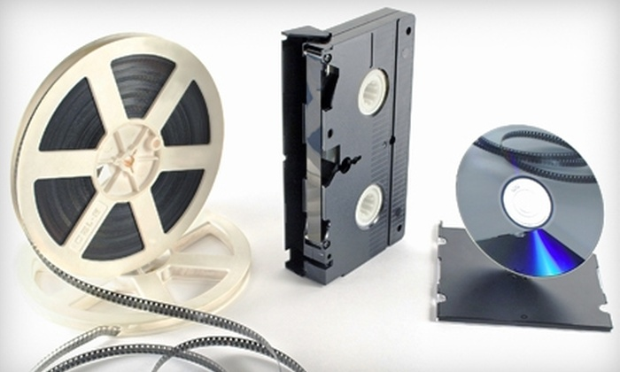 Denevi Digital Imaging Services - Cherryland: $39 for $100 Worth of Video-to-DVD Transfer and Slide and Photo Scanning at Denevi Digital Imaging Services in Hayward