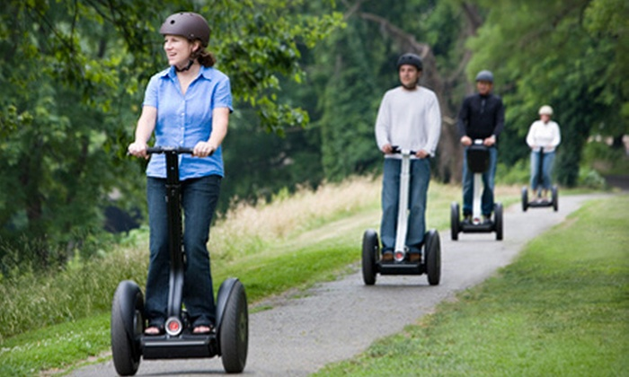 Segway of Cincinnati - Multiple Locations: 90-Minute Segway Tour for One or Two People from Segway of Cincinnati